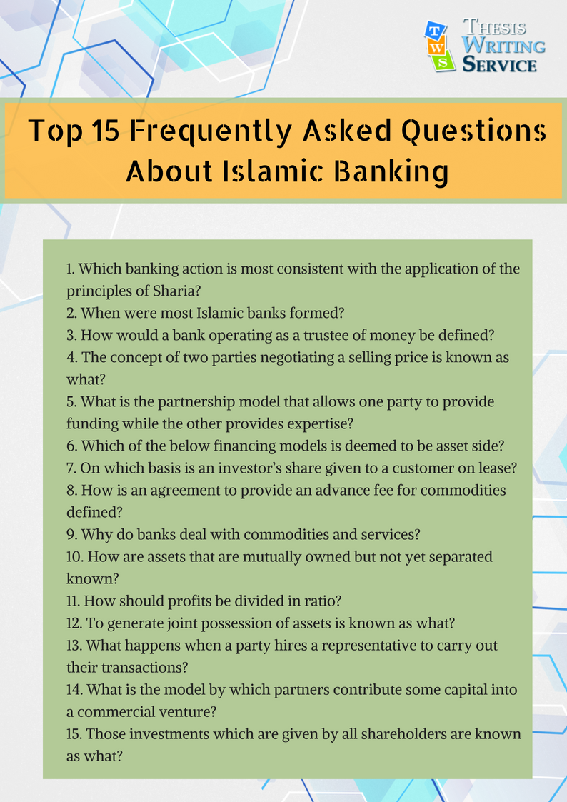 top frequently asked questions about islamic banking