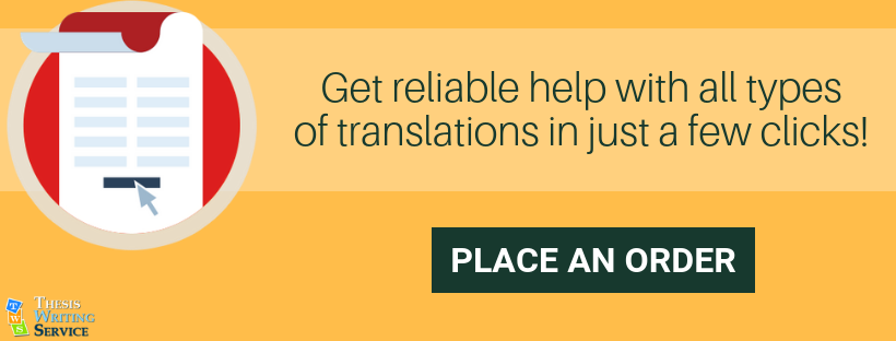 avail quality translation thesis services