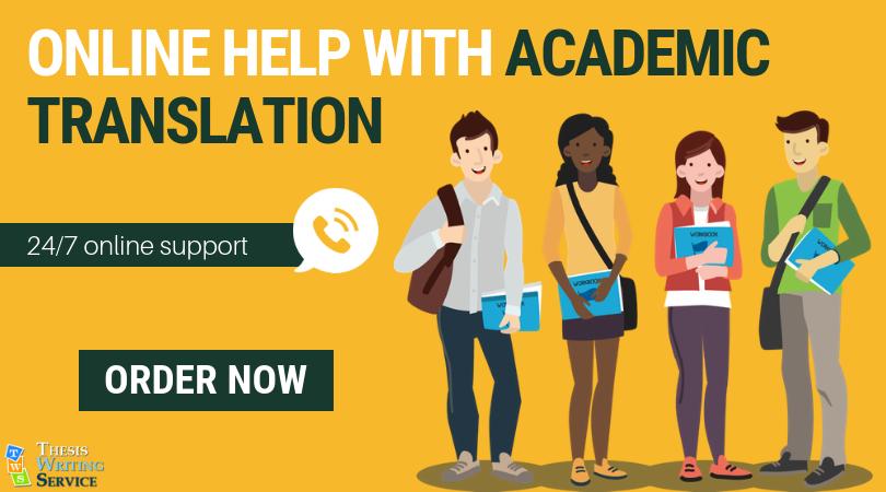 online academic translation services