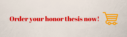 honor thesis