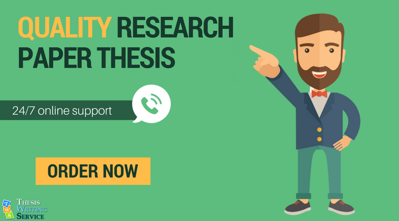 professional help writing a research paper thesis